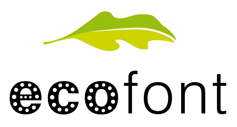 EcoFont : une police d'impression économique et écologique