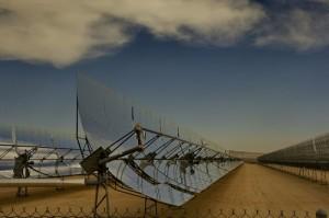 Photo Panneau solaire CSP