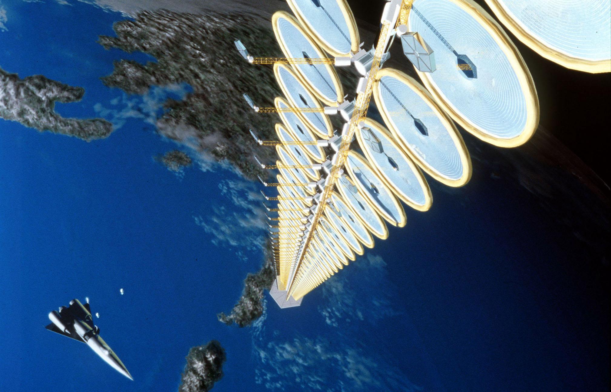 Le Japon envisage de construire une centrale solaire dans l'Espace