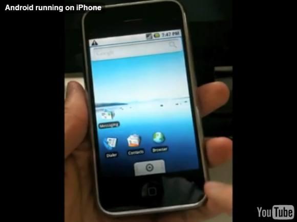 Installer Android sur un iPhone 2G : La procédure