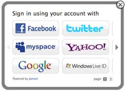 Identification unique et partage sociaux : Quels sont les services préférés des internautes ?
