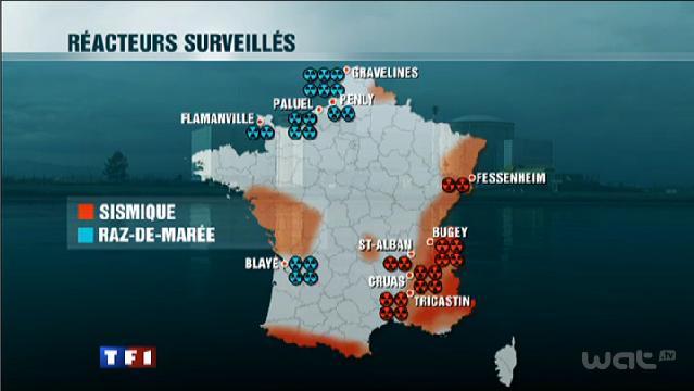 Quel risque nucléaire en France et dans le monde après Fukushima
