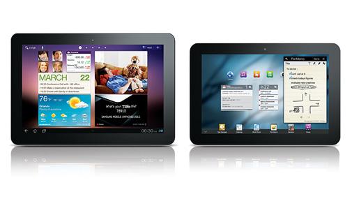 Samsung Galaxy Tab 10.1 et 8.9 des nouvelles tablettes sous Android pour concurrencer l'Apple iPad 2 (CTIA 2011)