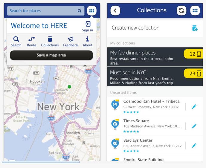Nokia Maps pour iOS