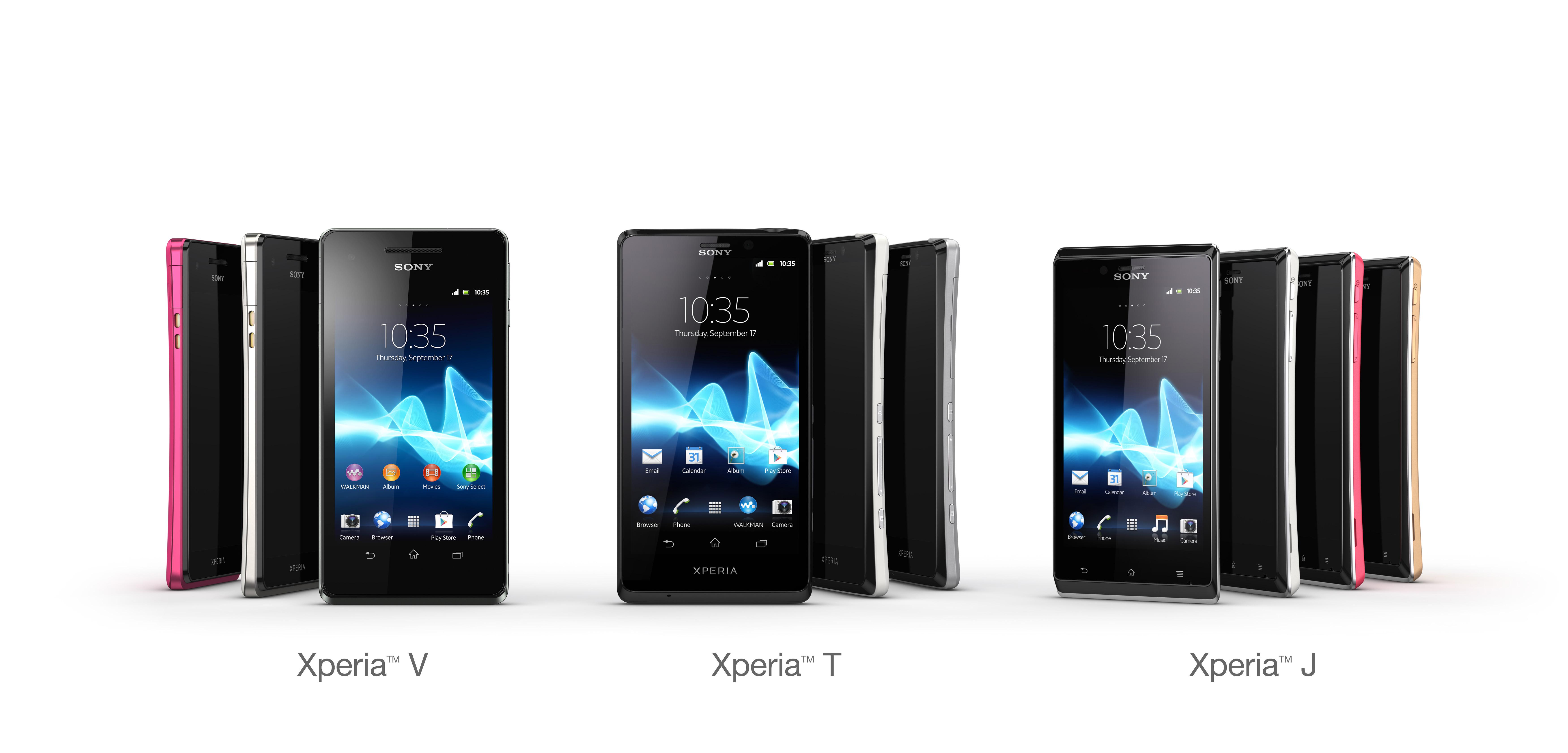 L'actu et les nouveautés Sony Xperia et VAIO (2012 – 2013)