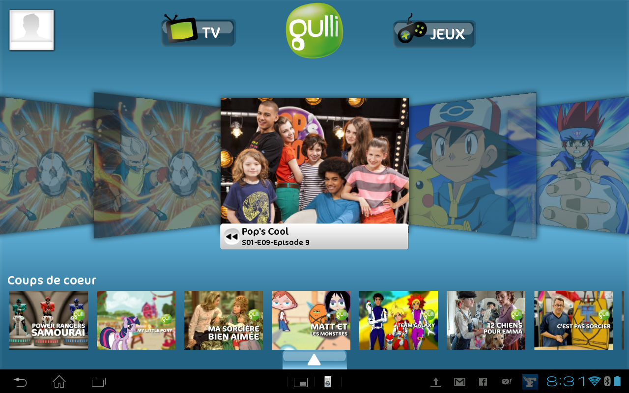 Gulli pour Android (Replay, jeux et live)