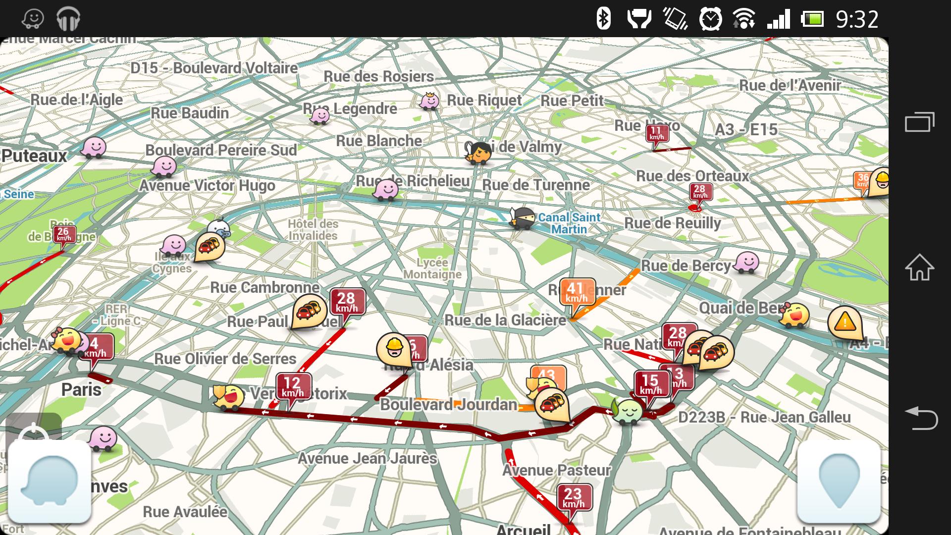 Waze pour Android