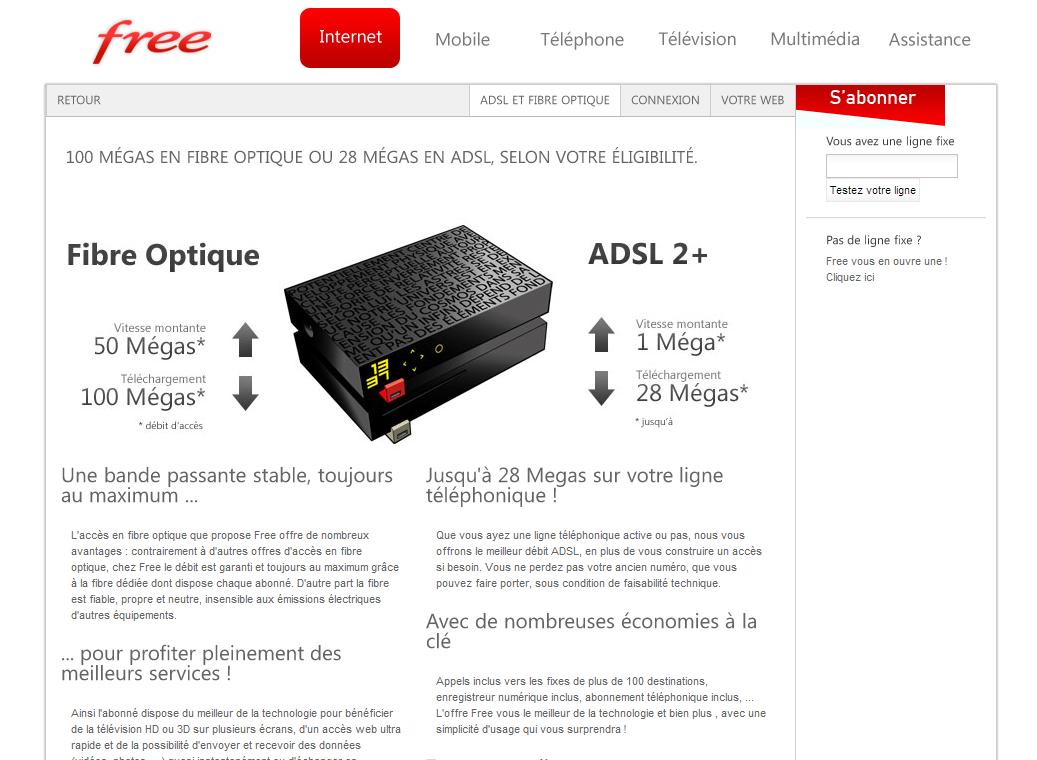 Comparatif Offre Fibre >> Comparatif des offres internet des FAI – EcoConscient