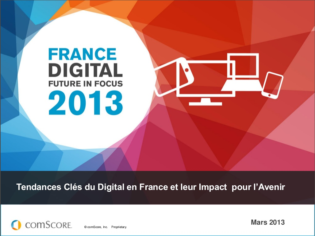 Tendances du Digital en France – ComScore