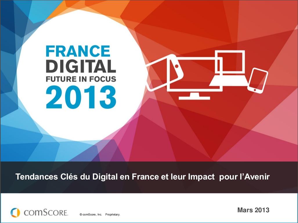 Tendances du Digital en France – ComScore