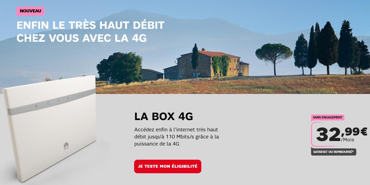 Comment remplacer l'internet fixe ADSL par une box 4G ?
