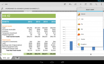 Quicke Office - Excel - Android, iOS
