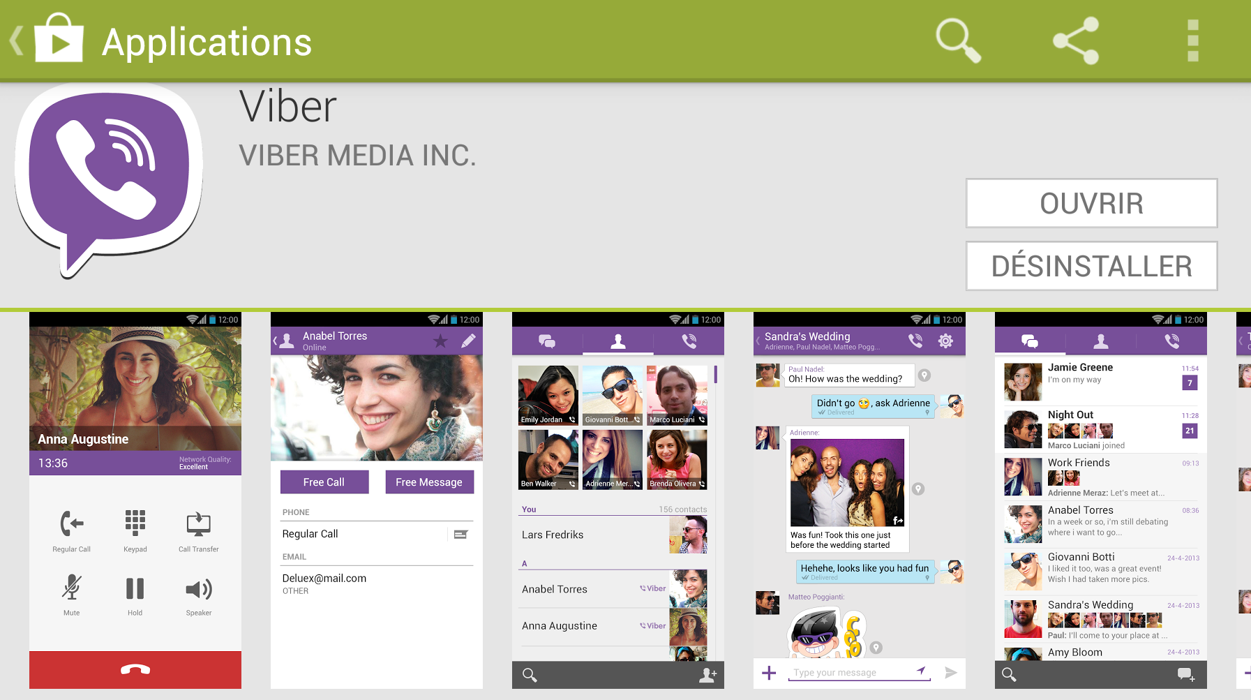 Viber pour Android