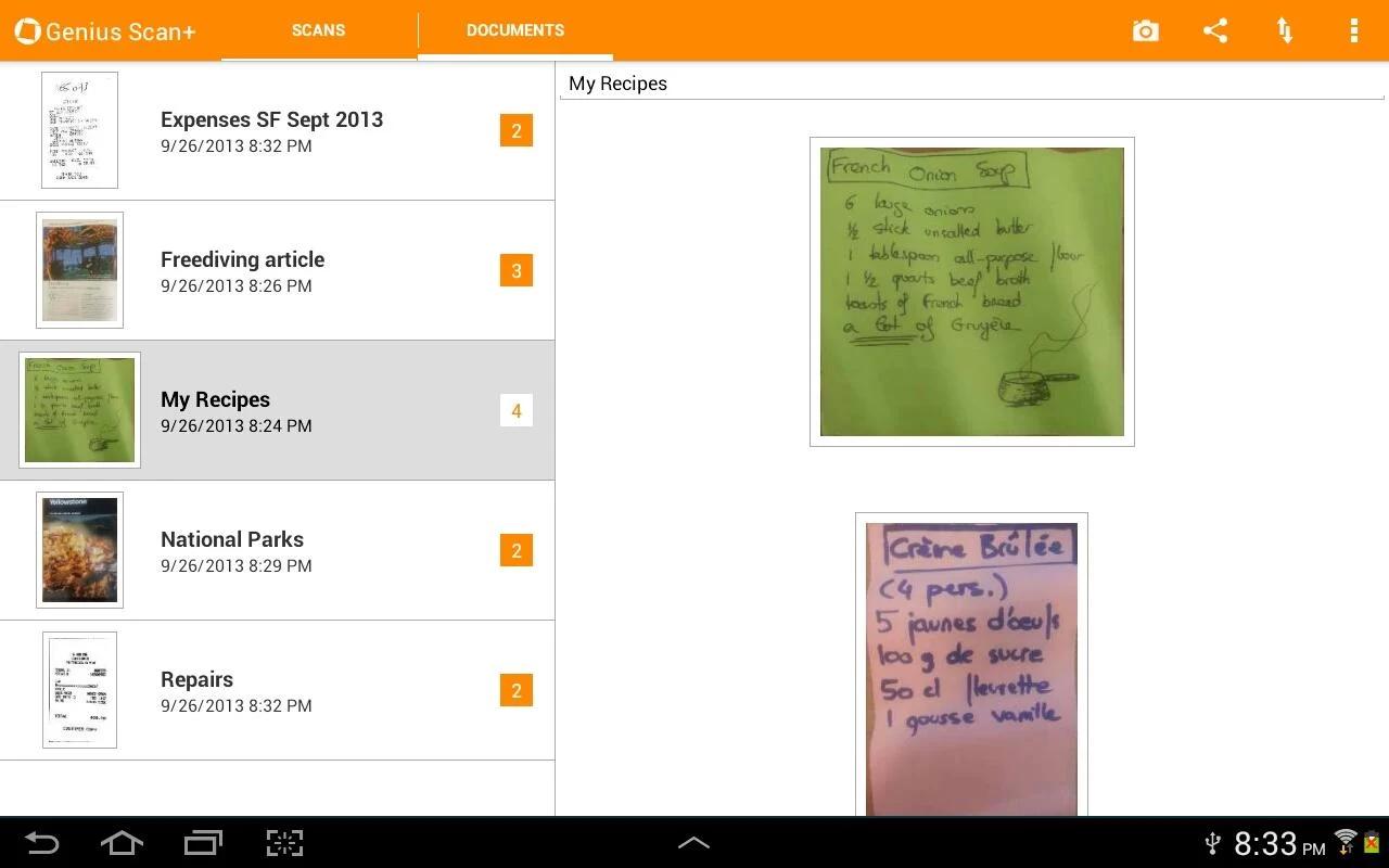 Comment Scanner Des Documents Sur Android Les Meilleures Applications Gratuites