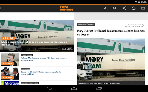 BFM Business pour Android