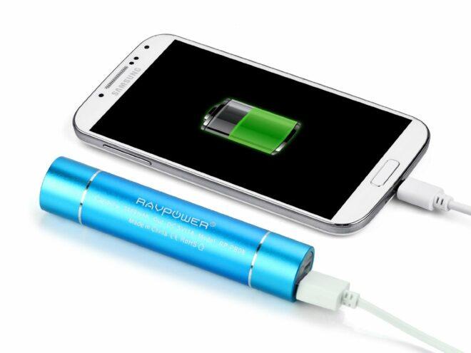Batterie externe pour smartphone ou tablette