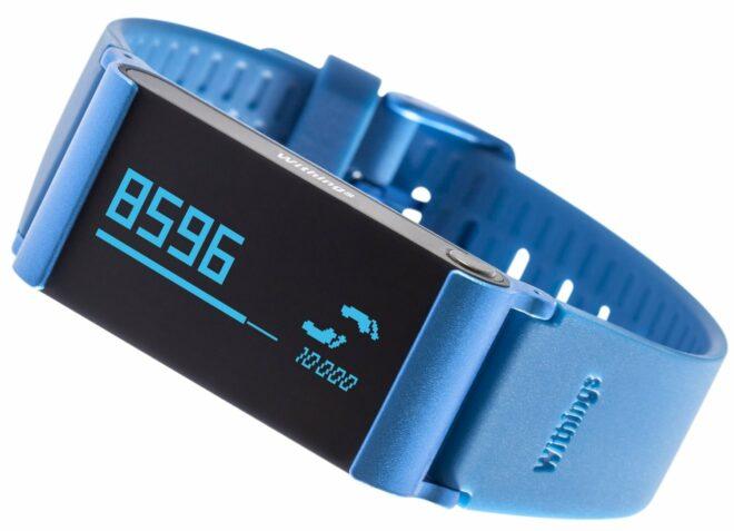 Withings Pulse O2 bleu avec capteur d'oxygène