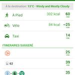 Choix des modes de transport