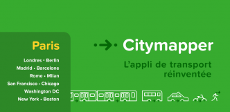 Citymapper l'application indispensable pour les déplacements à Paris