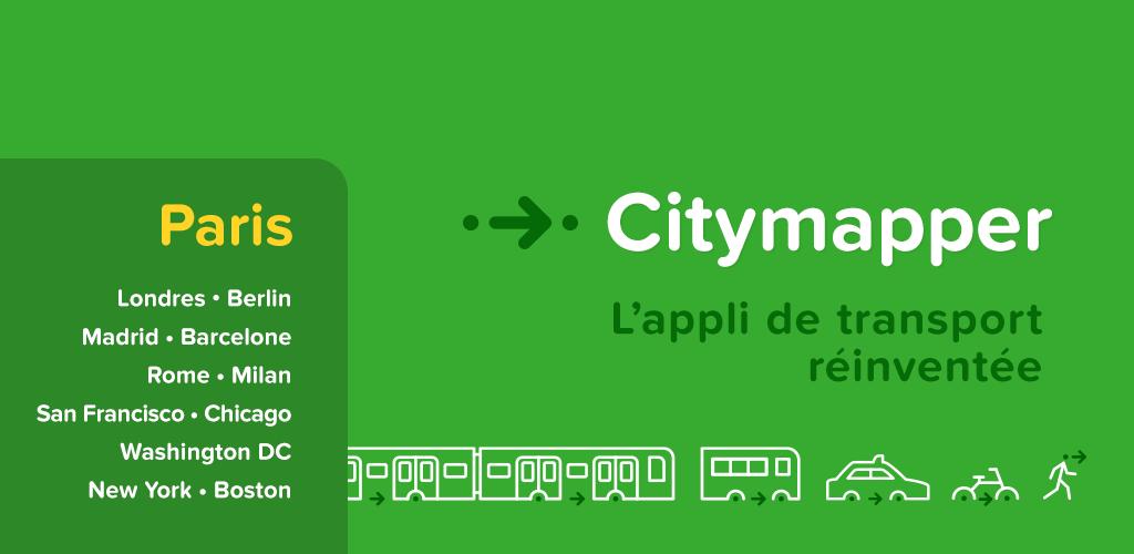 Les meilleures applications gratuites pour les transports Paris et l'île de France