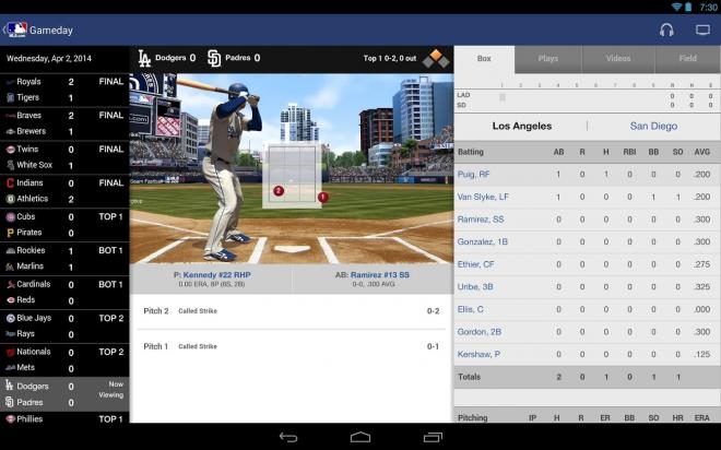 Baseball sur abonnement (2,99e/mois)
