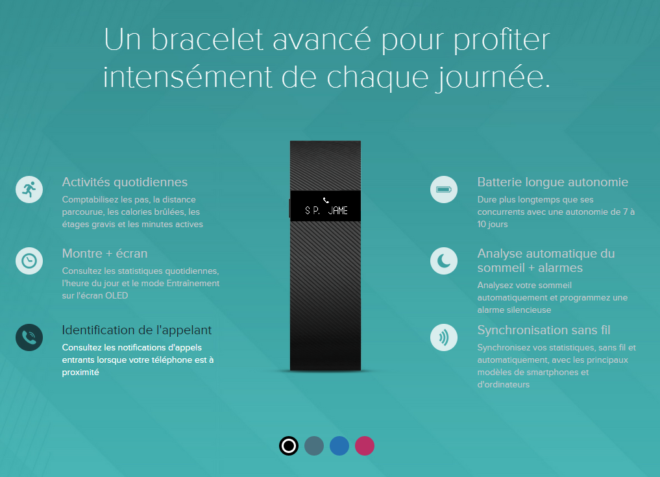 Fonctions FitBit Charge
