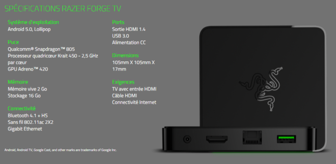 Razer Forge Android TV