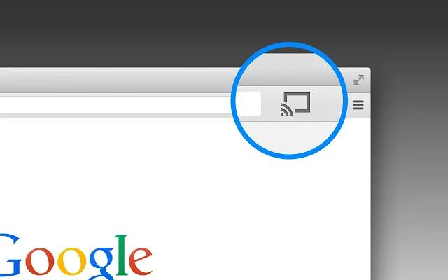 Extension Google Cast pour Chrome