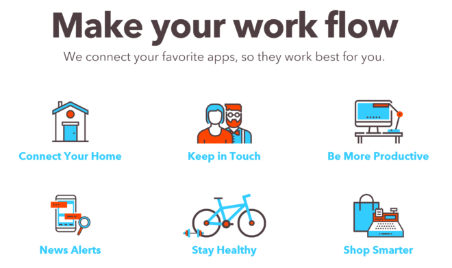 IFTTT (Web/Android/iOS)