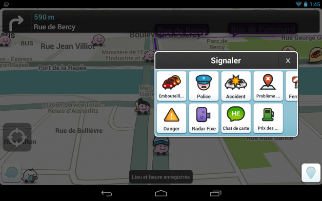 Waze (Android / iOS)