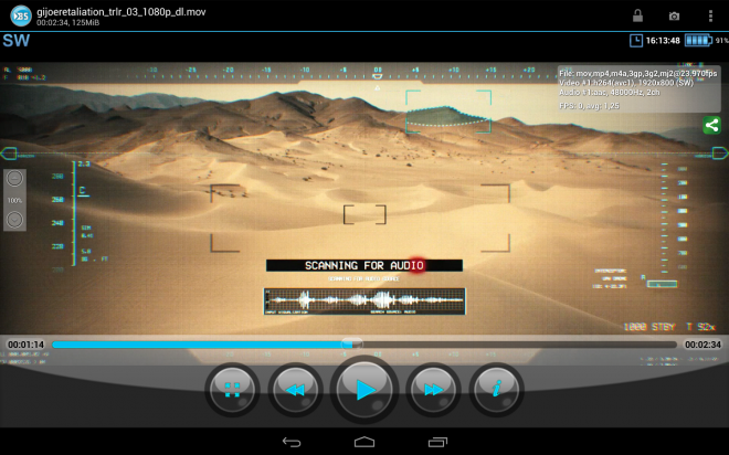 BS Player pour Android