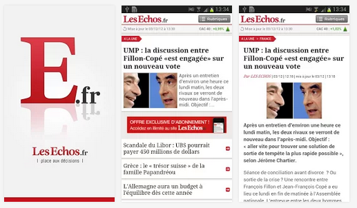 LesEchos Android